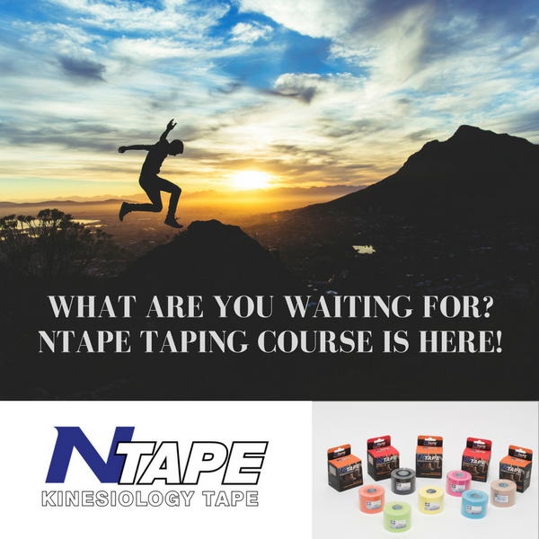 What are you waiting for-NTAPE Taping Course is here!