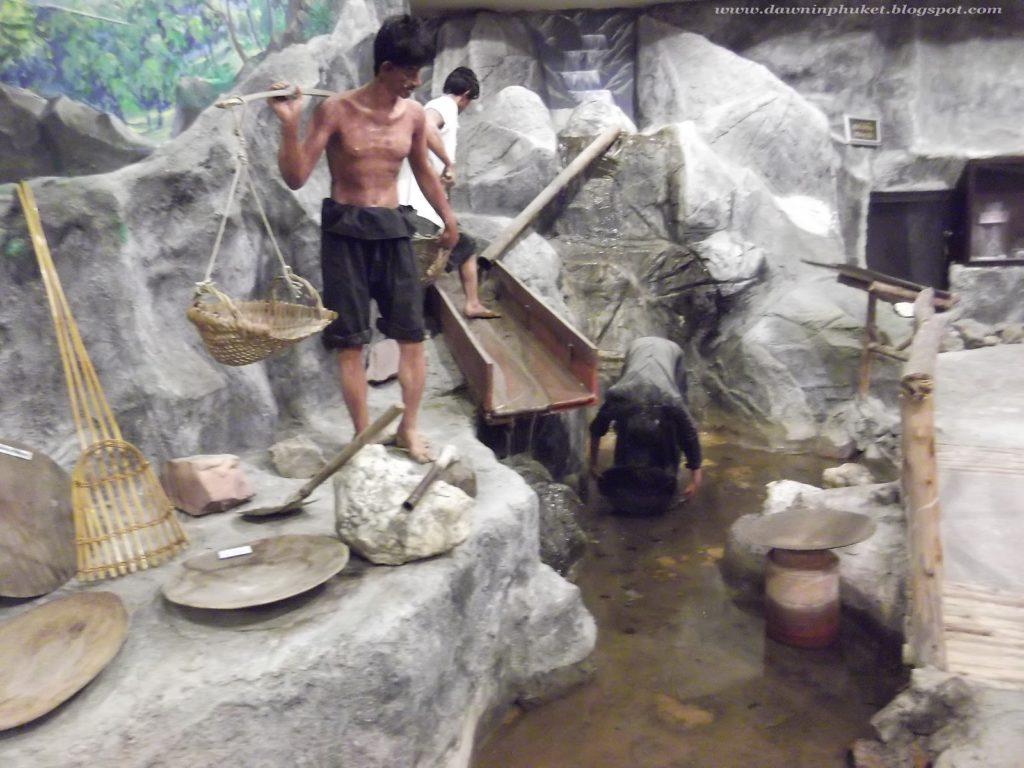 Mining Methods 3. Phuket Tin Mining Museum.