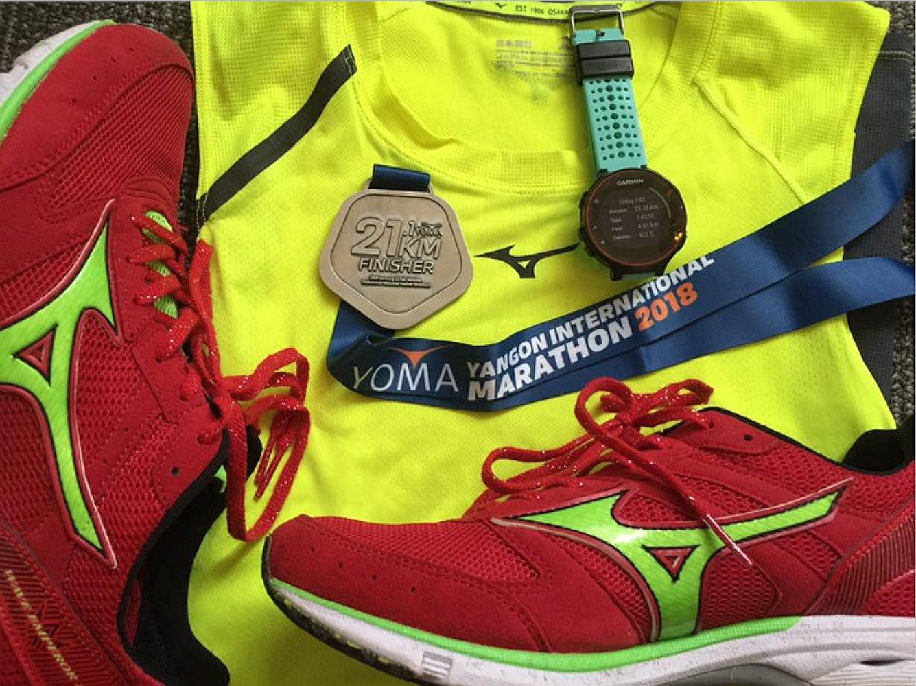 David Shum 1 Yangon Intl Marathon 2018