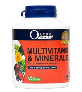 Ocean health Multivitamins and Minerals RUN Singapore
