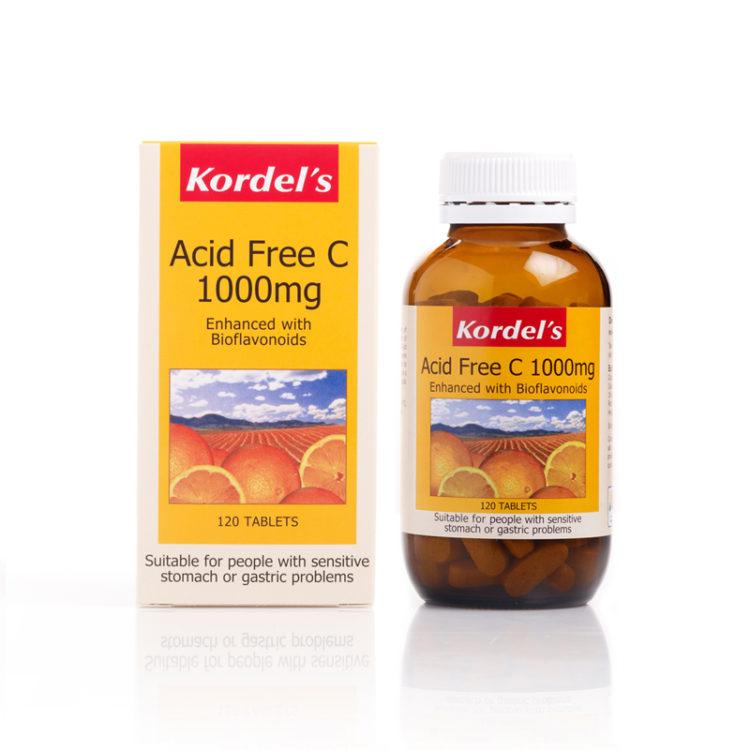 Acid Free C 1000 x 1 Bottle