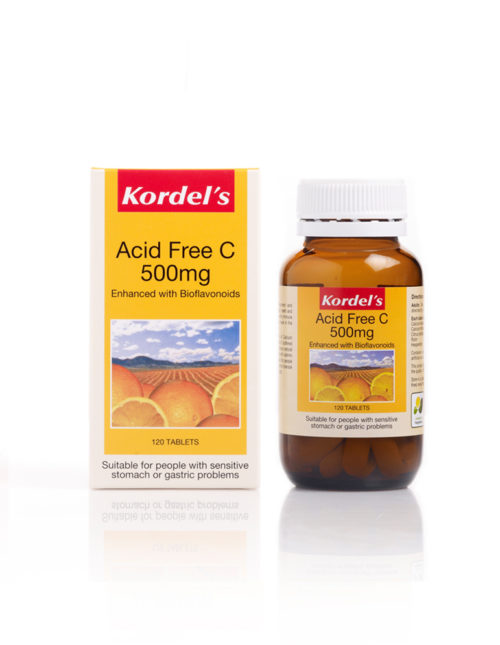 Acid Free C 500 x 1 Bottle