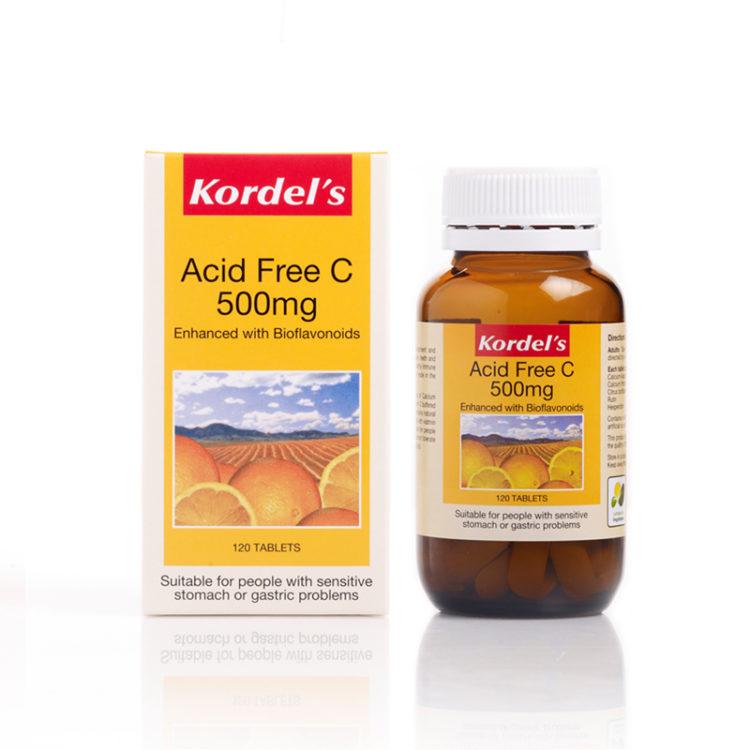 Acid Free C 500 x 1 Bottle