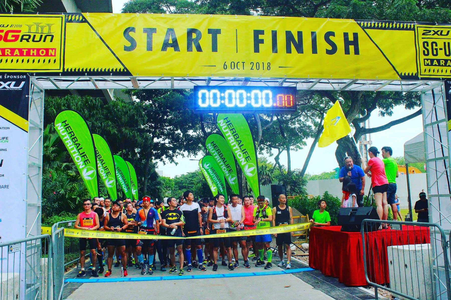 2XU Ultramarathon Start Line