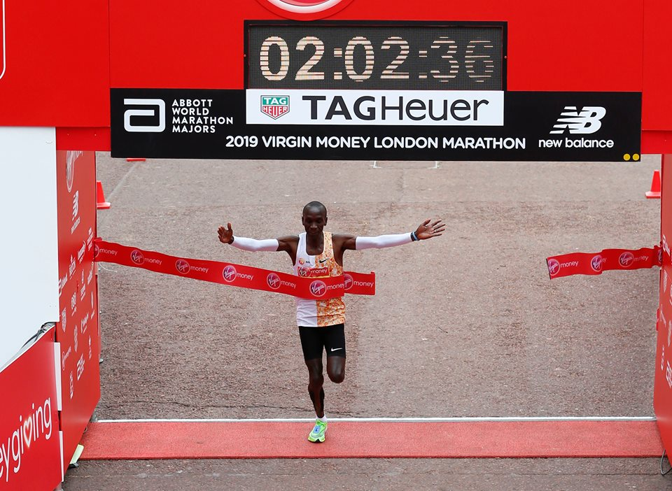 Kipchoge wins 4th London Marathon title
