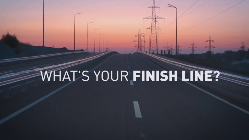 Finish Lines Are Everywhere