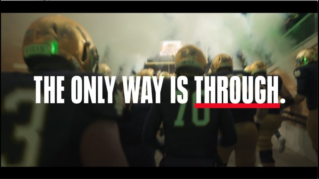UNDER ARMOUR | THE ONLY WAY IS THROUGH