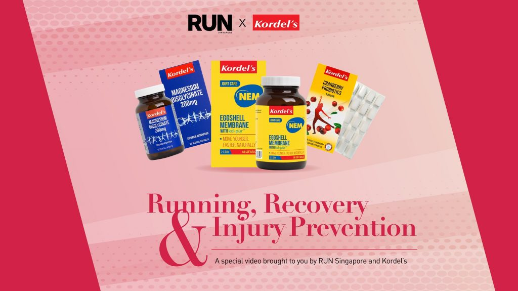 RUN Singapore x Kordel's: Running, Recovery and Injury Prevention